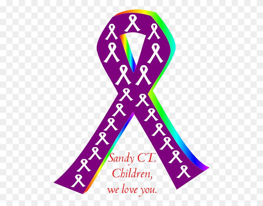 Purple Ribbon Png Clip Arts For Web - Purple Ribbon PNG