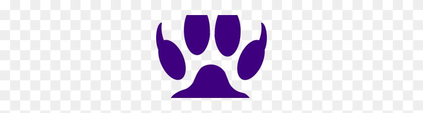 Purple Tiger Paw Tiger Claw Mark Stencil Tiger Claw Clip Art Ideas - Claw Mark PNG