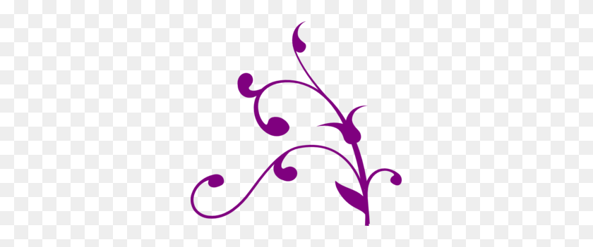 299x291 Purple Wedding Clip Art Borders - Free Elegant Wedding Clipart