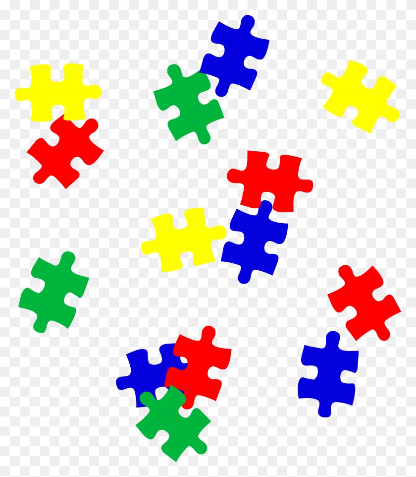 Puzzle Center Clip Art - Manipulatives Clipart