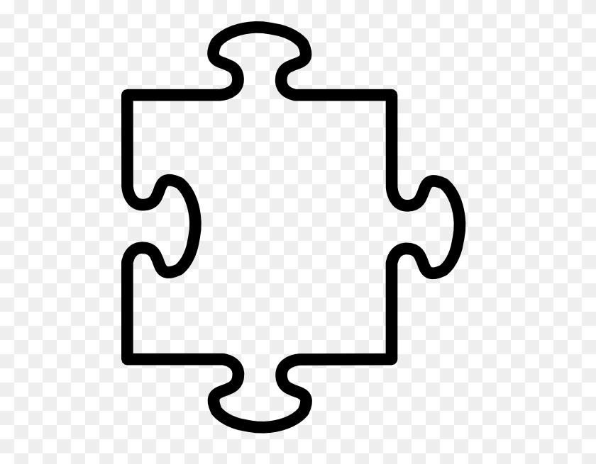 498x595 Puzzle Piece Clip Art - Free Clipart Puzzle Pieces