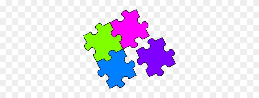 300x258 Puzzle Piece Clip Art Free - Free Clipart Puzzle Pieces