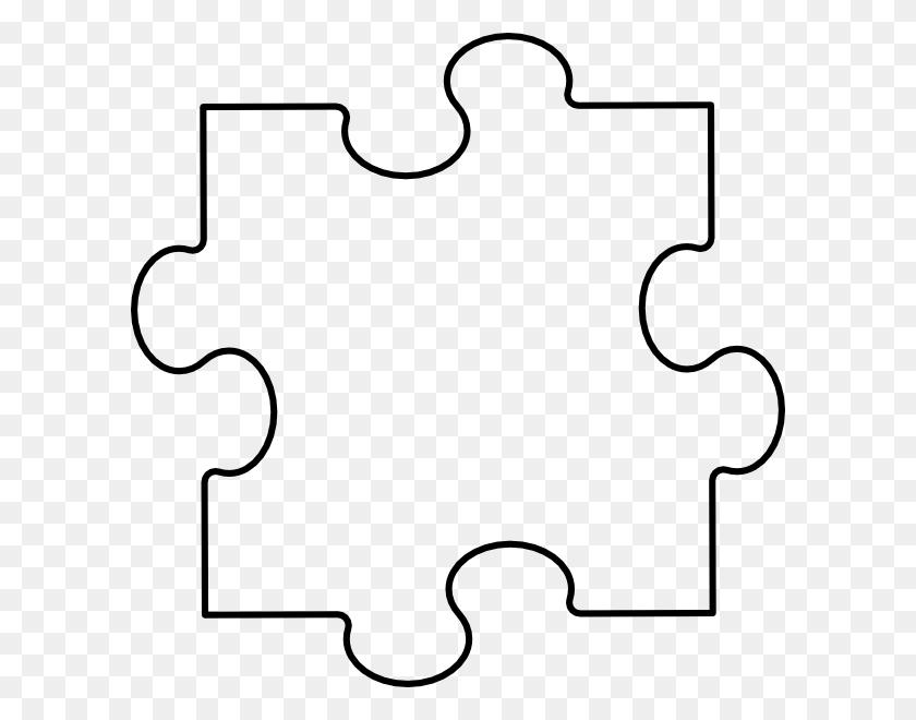 Puzzle Piece Horizontal Clip Art - Horizontal Line Clipart