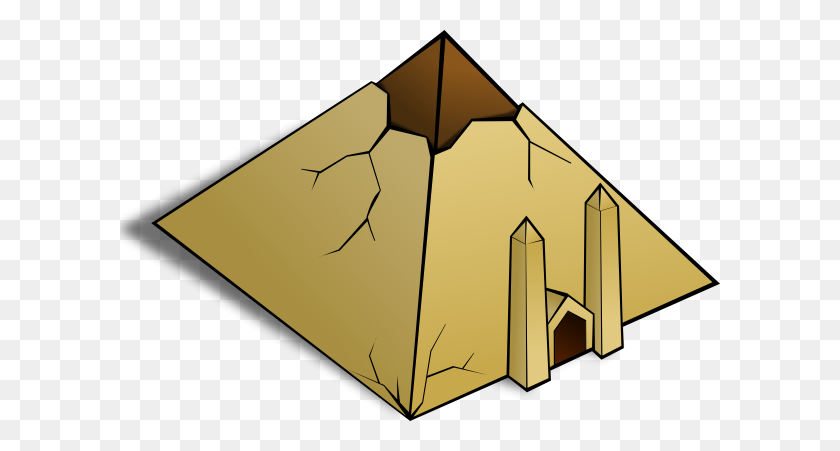 Pyramid Clipart Egyptian Pyramid - Mayan Clipart