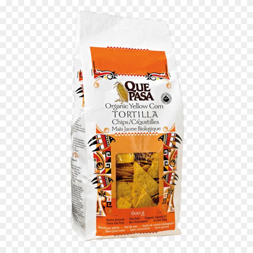 Que Pasa Yellow Tortilla Chips - Tortilla PNG