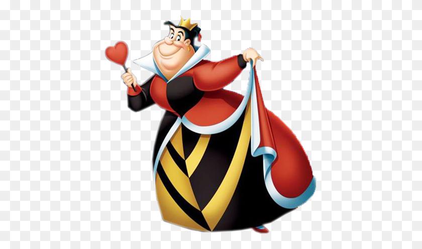 Queen King Of Hearts Clipart Alice In Wonderland - Queen Of Hearts Clipart