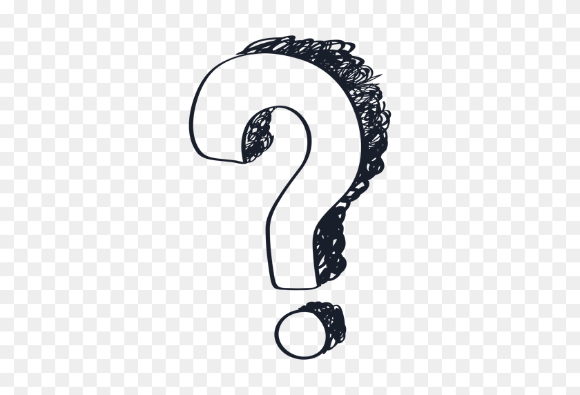 Question Mark Drawing - Drawing PNG