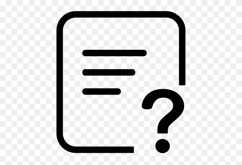 Questionnaire Investigation, Investigation, Microscope Icon - Questionnaire Clipart