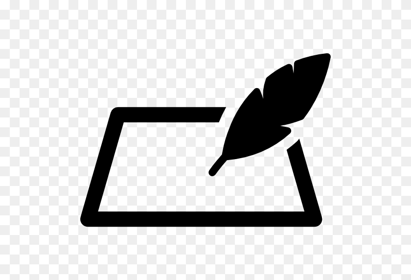 Quill And Piece Of Paper - Piece Of Paper PNG