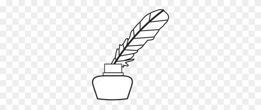 Quill Pen Clip Art - Pen Clipart PNG