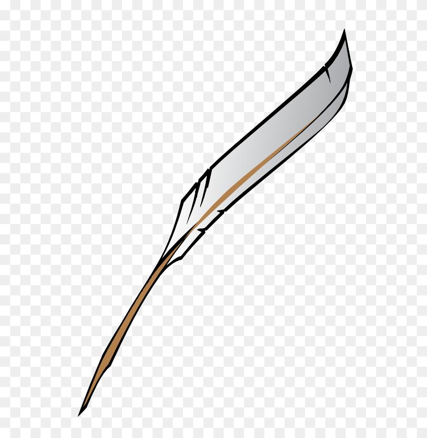 Quill Pen Clipart - Pen Writing Clipart