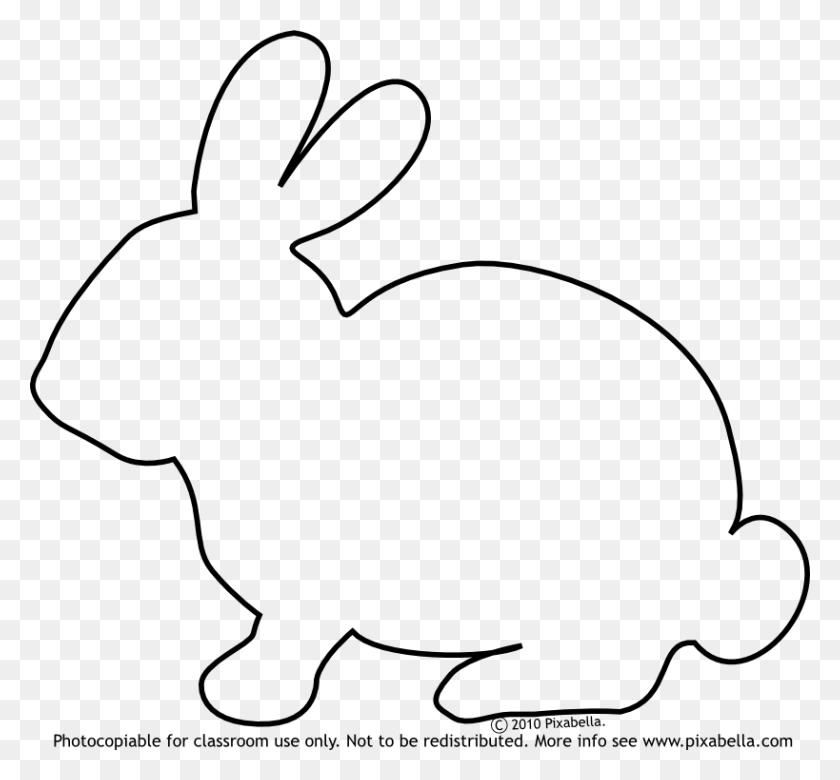 Rabbit Black And White Bunny Black And White Rabbit Bunny Clipart - Swamp Clipart Black And White