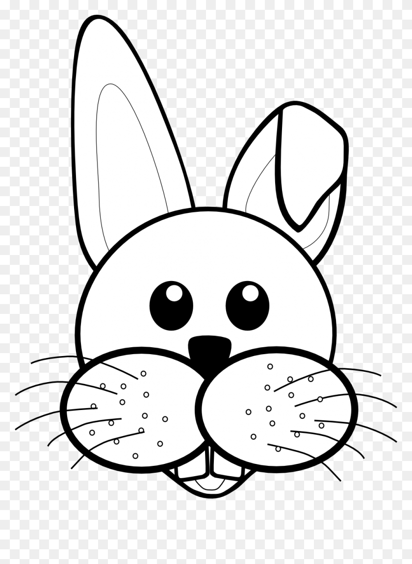 Rabbit Black And White Bunny Black And White Rabbit Clipart Free - Rabbit Clip Art