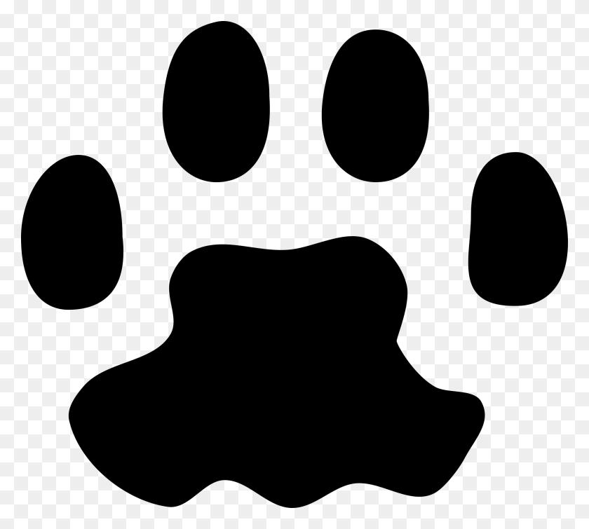 Raccoon Paw Prints Clip Art - Dog Footprint Clipart