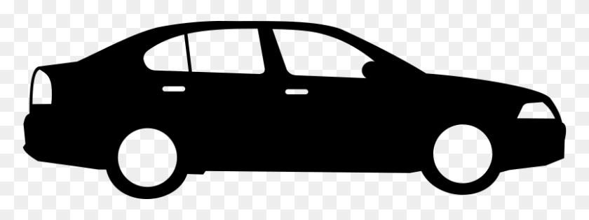 Race Car Silhouette Clip Art Clip Art - Race Car Black And White Clipart