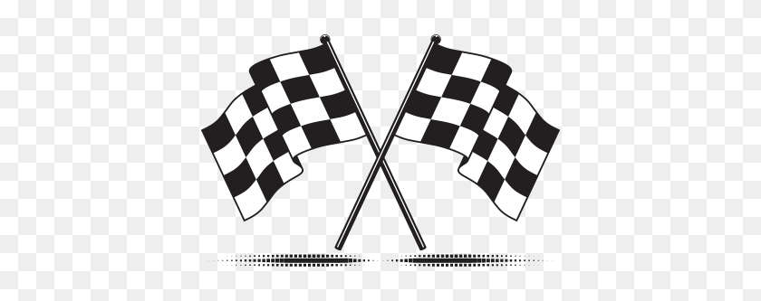 Racing Flag Png Transparent Vector, Clipart - Racing PNG