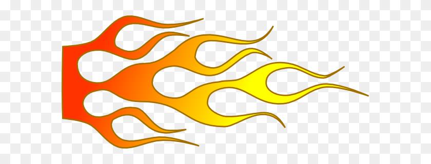 Racing Flame Clip Art - Racing PNG