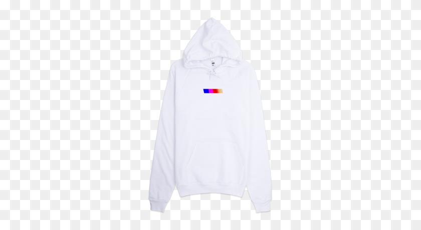 Racing Stripe Hoodie Frank Ocean Online Store Powered - White Hoodie PNG
