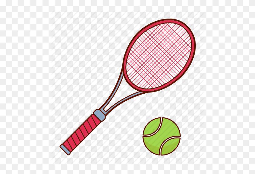 Racket, Sport, Tennis, Tennis Racket Icon - Tennis Racket PNG