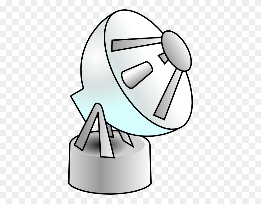 Radar Wireless Communication Clip Art Free Vector - Radar Clipart