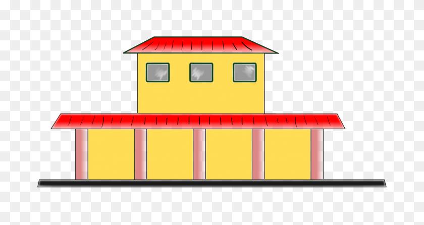 Rail Transport Train Station Rapid Transit - Railroad Clipart Free