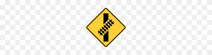 Railroad Sign Clip Art - Railroad Clipart