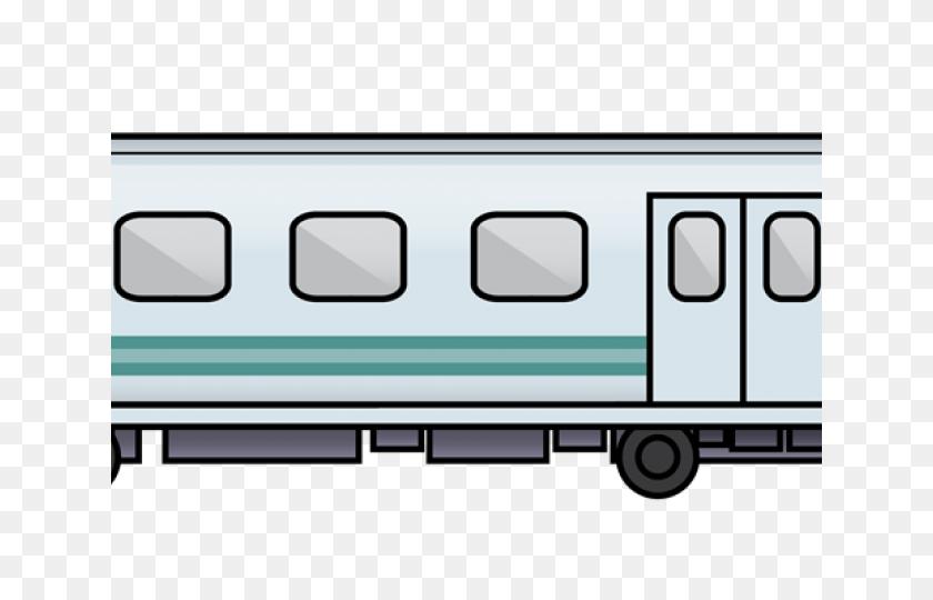 Railroad Tracks Clipart Modern Train - Railroad Tracks Clipart