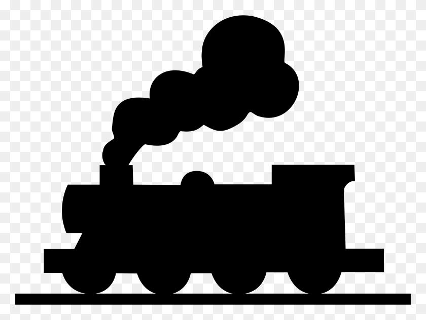 Railroad Trains Clipart Railroad Trains Clip Art Images - Transportation Clipart Black And White