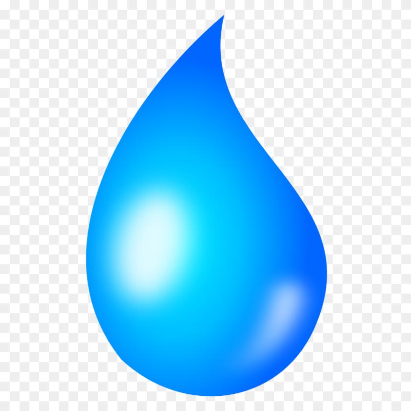 Rain Drop Clip Art - Water Drop Clipart PNG