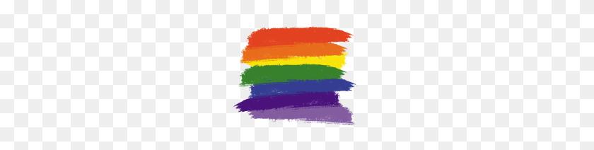 Rainbow Paint Brushes - Paint Brush Stroke PNG