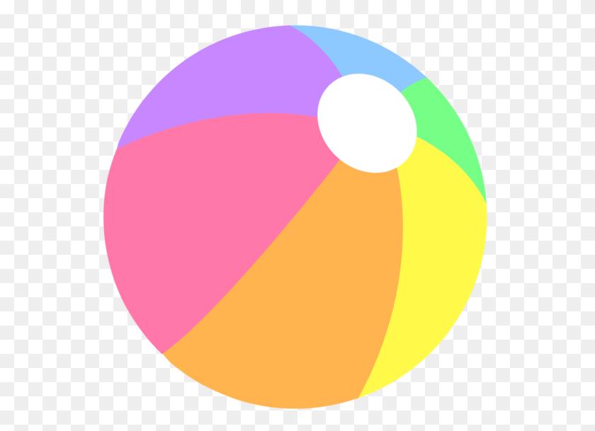 Rainbow Pastel Beachball Beach Birthday Beach Ball - Pastel Rainbow Clipart