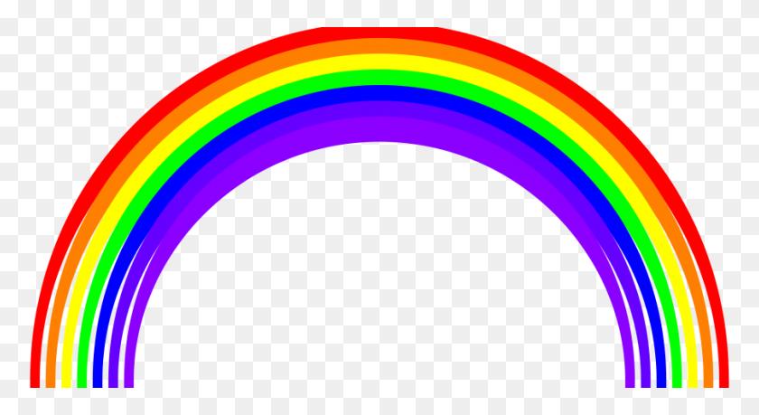 Rainbow Semicircle Png Large Size - Semi Circle PNG