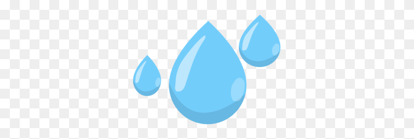 Raindrops Clip Art - Water Clipart