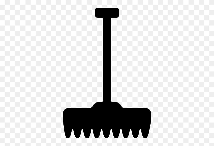 Rake, Work Tools, Working, Gardening, Gardening Tools Icon - Rake Clipart