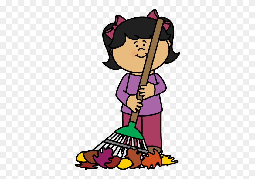 Raking Leaves Clipart Look At Raking Leaves Clip Art Images - The Great Depression Clipart