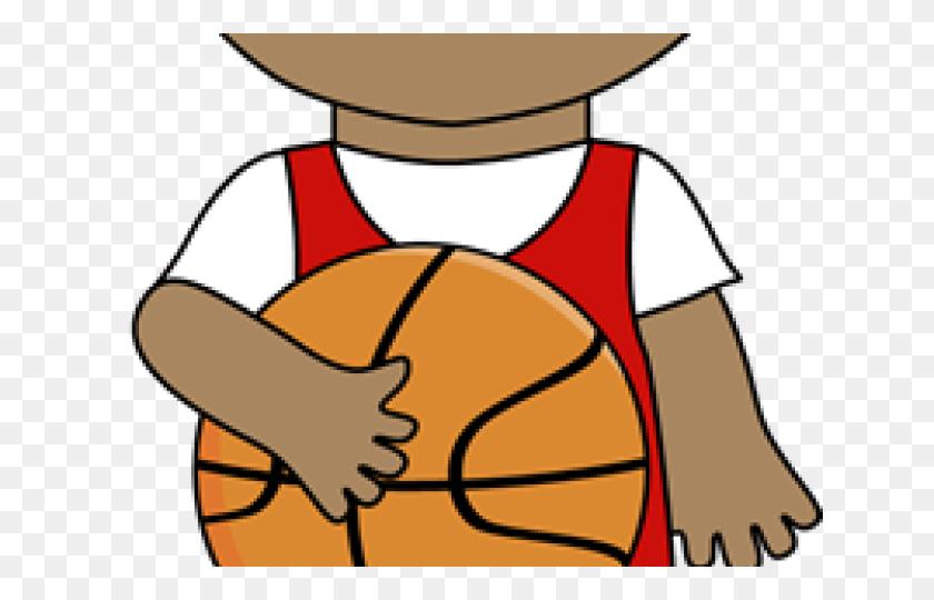 Random Cliparts - Basketball And Net Clipart