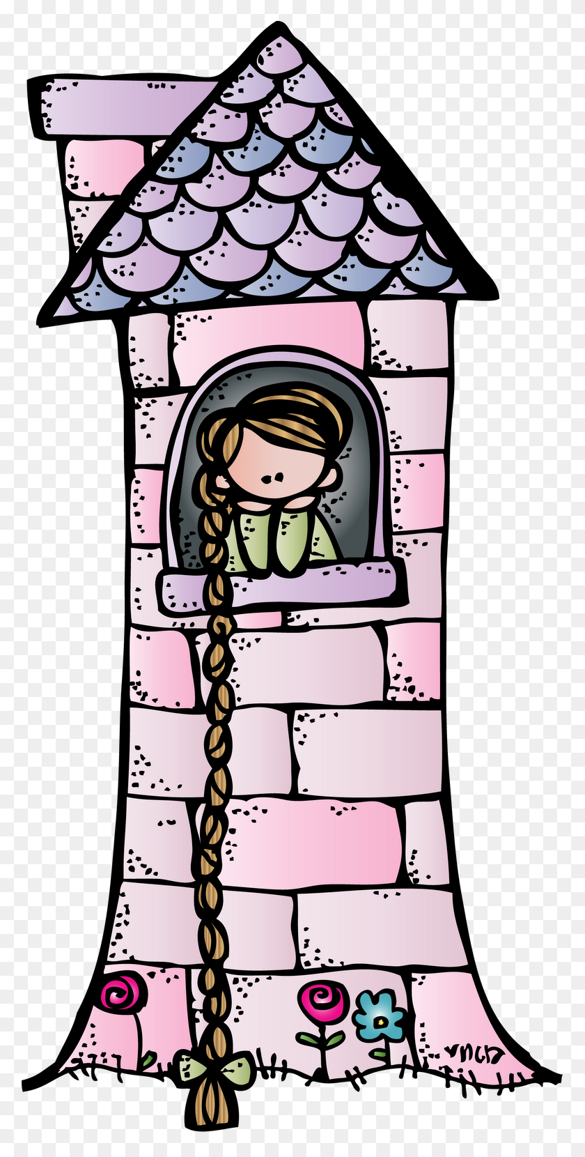 Rapunzel Clipart Cartoon - Rapunzel Clipart