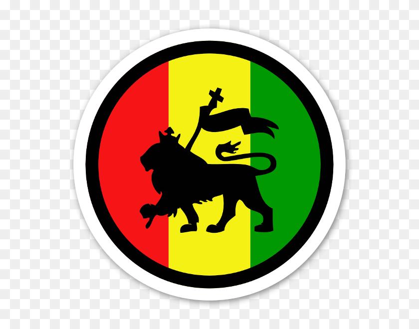 Rasta Lion Round Sticker Ideas For The House Rasta - Rasta Clipart