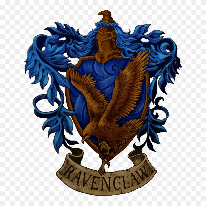Ravenclaw Crest Drawn - Ravenclaw Crest PNG