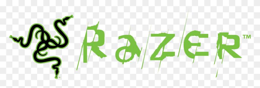 3709x1079 Razer Logo Png Images Transparent Free Download - Logo PNG