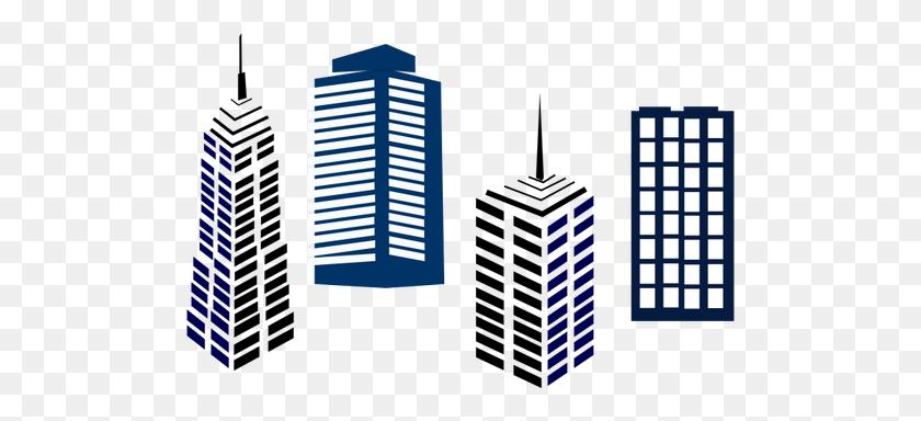 Real Estate Symbol Vector Clip Art - Skyscraper Clipart