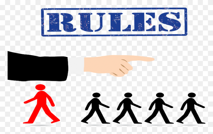 Rebel With A Cause Obeying Safety Rules - Rules PNG