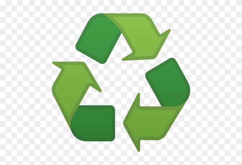 Recycling Symbol Icon Noto Emoji Symbols Iconset Google - Recycling Symbol PNG
