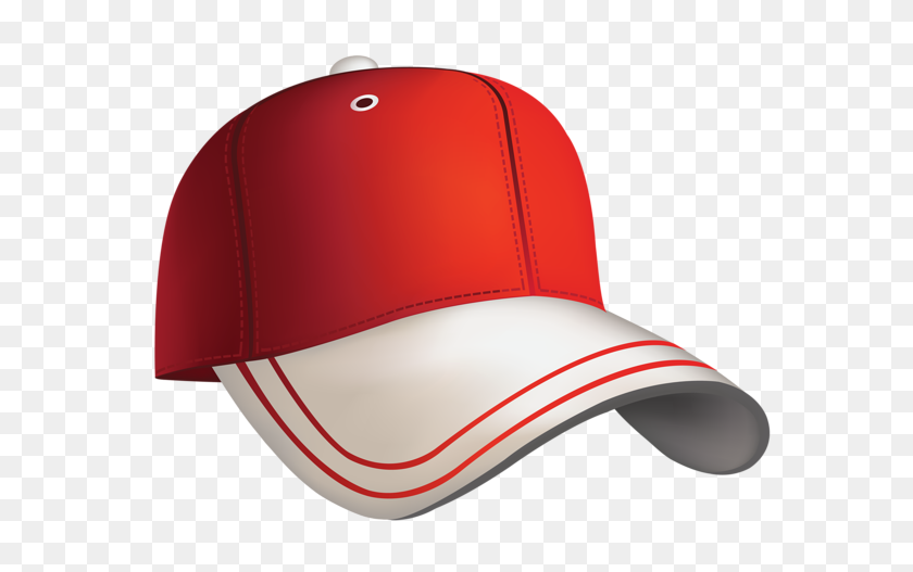 Red Baseball Cap Clipart Gif Veci In Reds - Snapback Clipart
