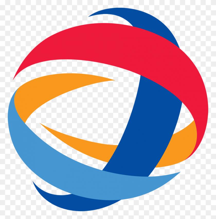 Red Blue Orange Circle Logos - Orange Circle PNG