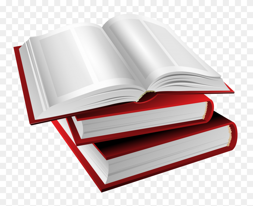 Red Books Clipart - Books Images Clip Art