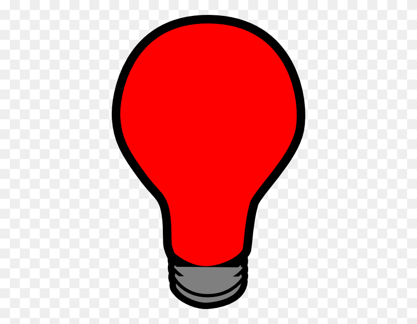 Red Christmas Light Bulb Clipart - Christmas Light Bulb Clipart