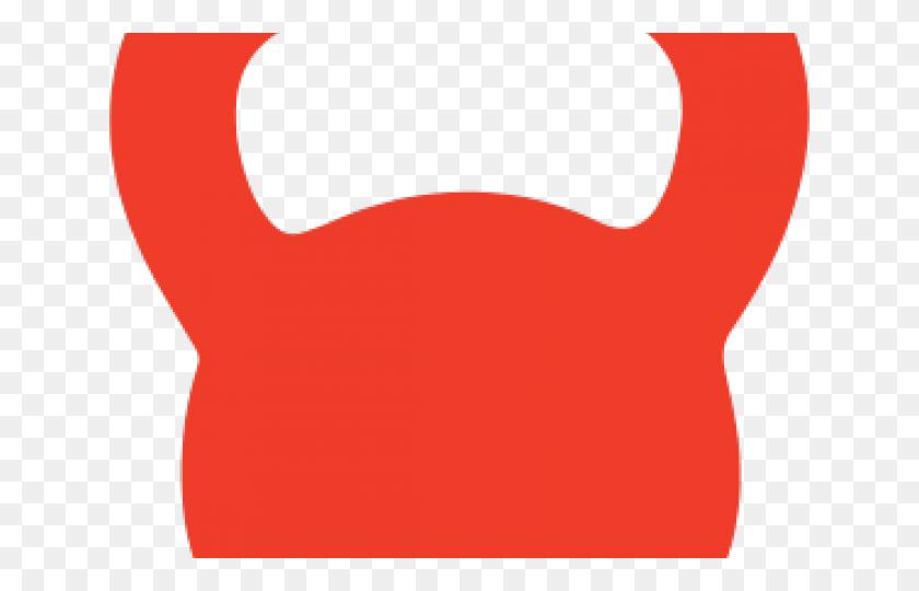 Red Clipart Kettlebell - Kettlebell Clipart