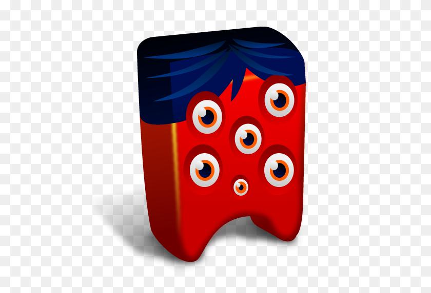 512x512 Red Eyes Clipart Monster Eyes - Monster Eyeball Clipart
