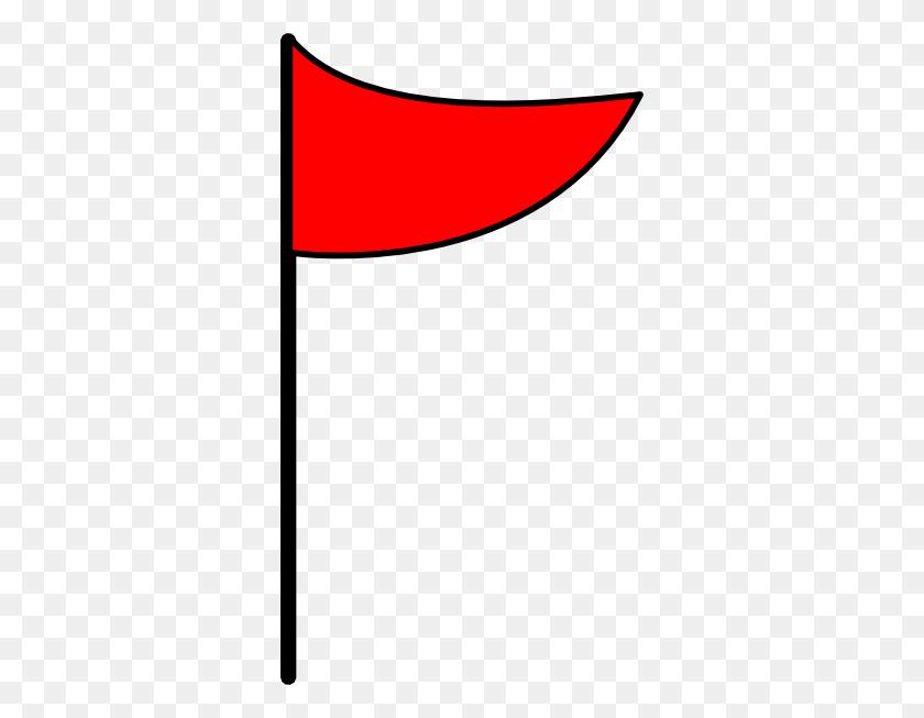 330x593 Red Flag Clip Art - Polish Flag Clipart